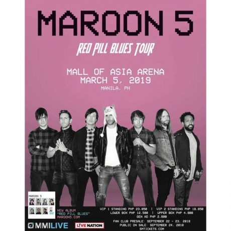 Maroon 5 Live in Manila 2019