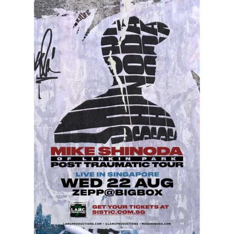 Mike Shinoda's Post Traumatic Tour Live In Singapore