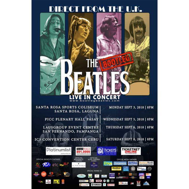 The Bootleg Beatles return to Philippines