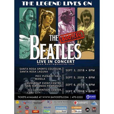 The Bootleg Beatles in Concert 2018