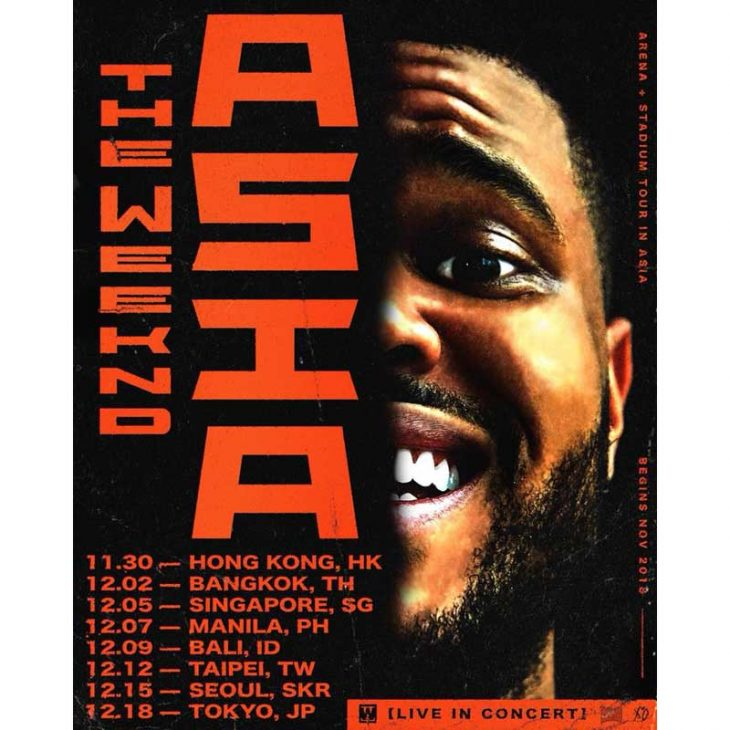 The Weeknd Live in Manila 2018