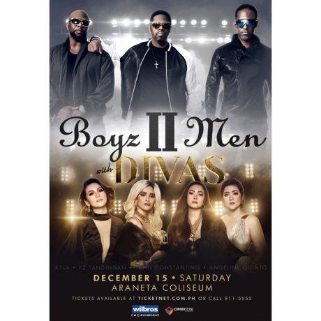 Boyz II Men with DIVAS Live in Manila 2018