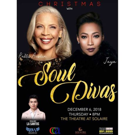 Christmas with Soul Divas - Patti Austin and Jaya at Solaire Resort