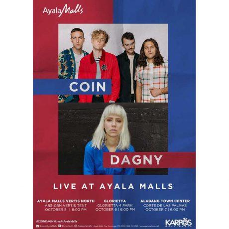 Coin and Dagny Live at Ayala Malls