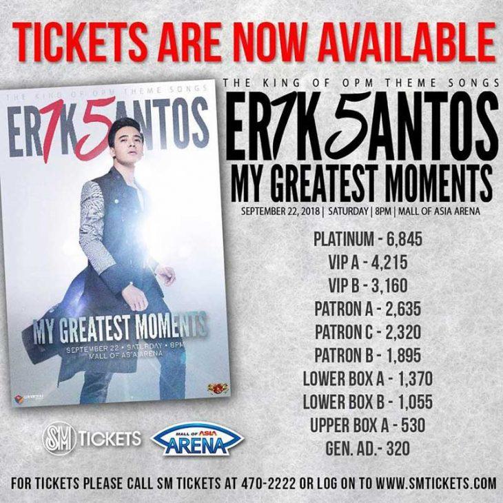 Erik Santos 15th Anniversary Concert