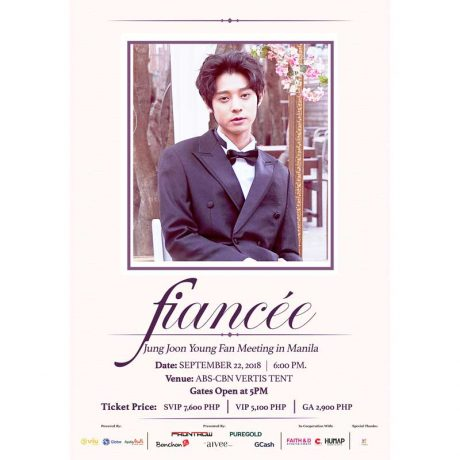 Jung Joon Young Fan Meeting in Manila 2018