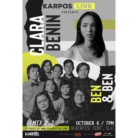 Karpos Live Mix 2.2 with Ben&Ben and Clara BeninKarpos Live Mix 2.2 with Ben&Ben and Clara Benin