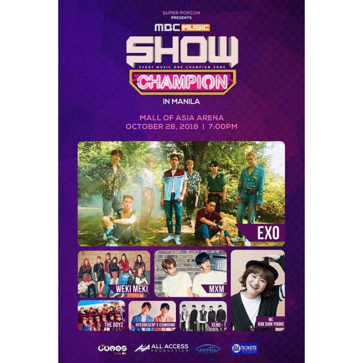 MBC Music Show Champion in Manila 2018