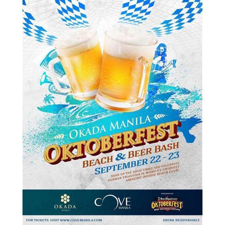Okada Manila's Oktoberfest at Cove Manila