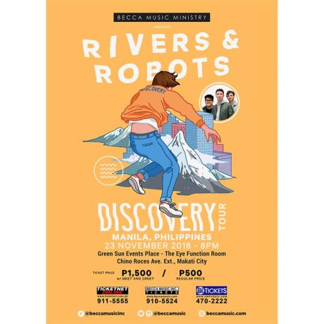 Rivers & Robots Live in Manila 2018