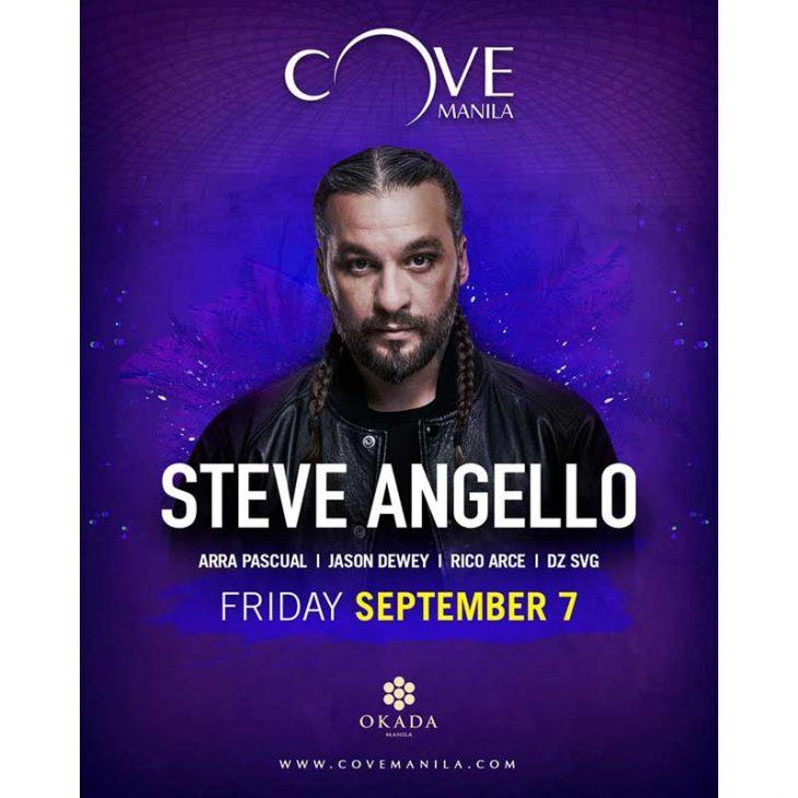 Steve Angello Live at Cove Manila