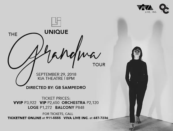 Unique – The Grandma Tour