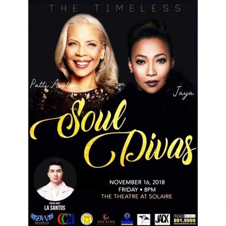 Timelss Soul Divas - Patti Austin and Jaya at Solaire Resort