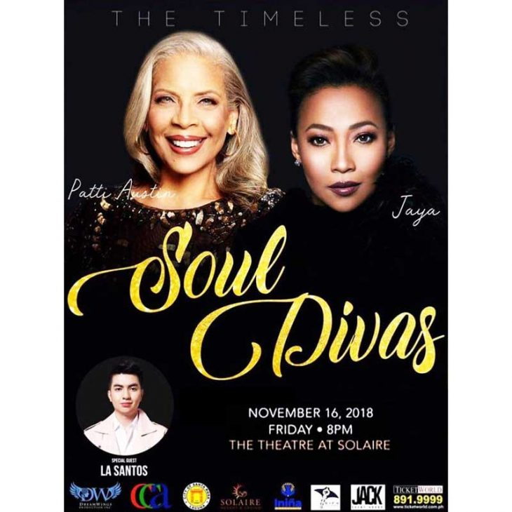 Timeless Soul Divas – Patti Austin and Jaya at Solaire Resort