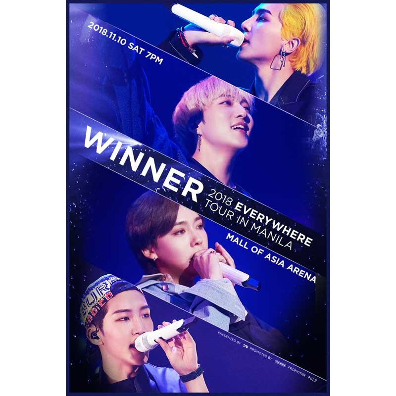 WINNER 2018 Everywhere Tour in Manila   Philippine Concerts