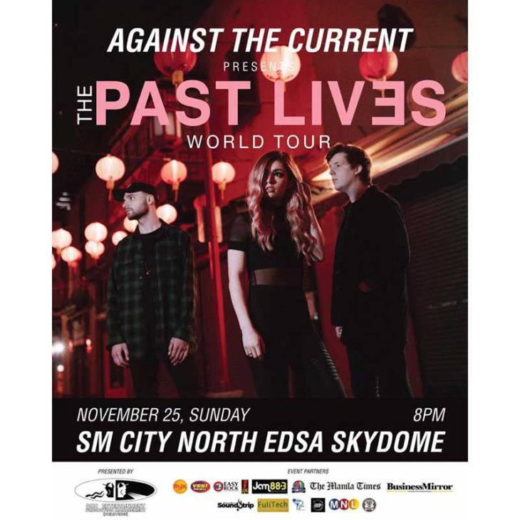 Against The Current: The Past Lives Manila Tour