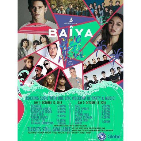 BAÎYA: Subic Arts Festival 2018