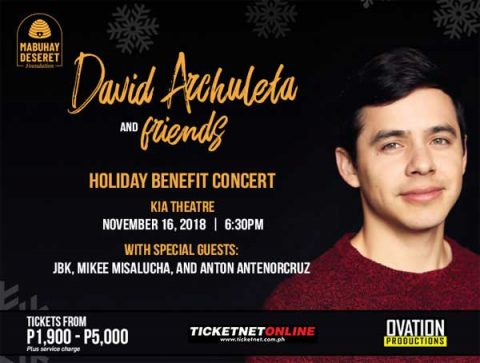 David Archuleta and Friends Holiday Benefit Concert