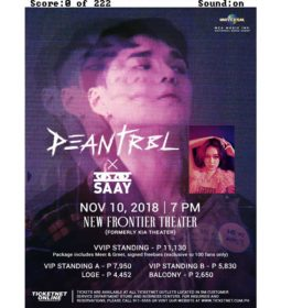 DEAN and SAAY Live in Manila 2018