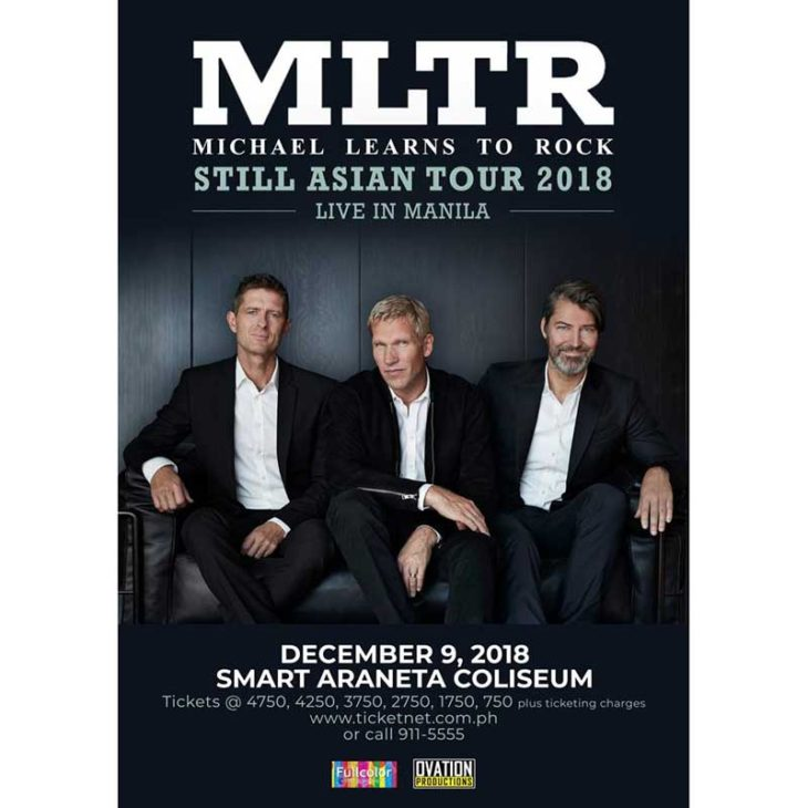Michael Learns To Rock Philippine Tour 2018