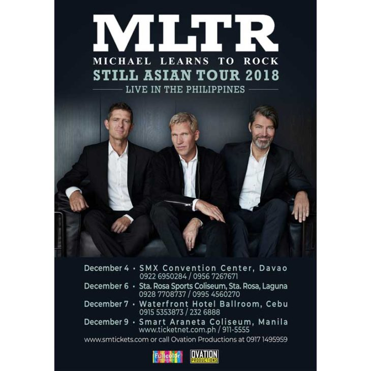 Michael Learns To Rock PH Tour