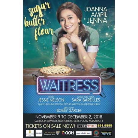 Waitress Musical Manila 2018