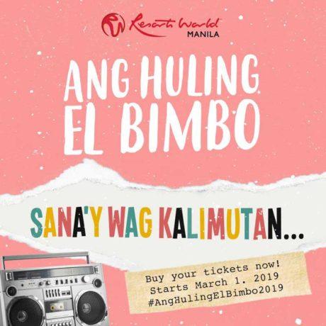 Ang Huling El Bimbo The Musical 2019