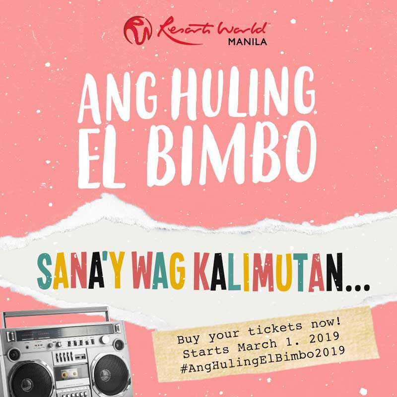 Ang Huling El Bimbo The Musical 2019 | Philippine Concerts