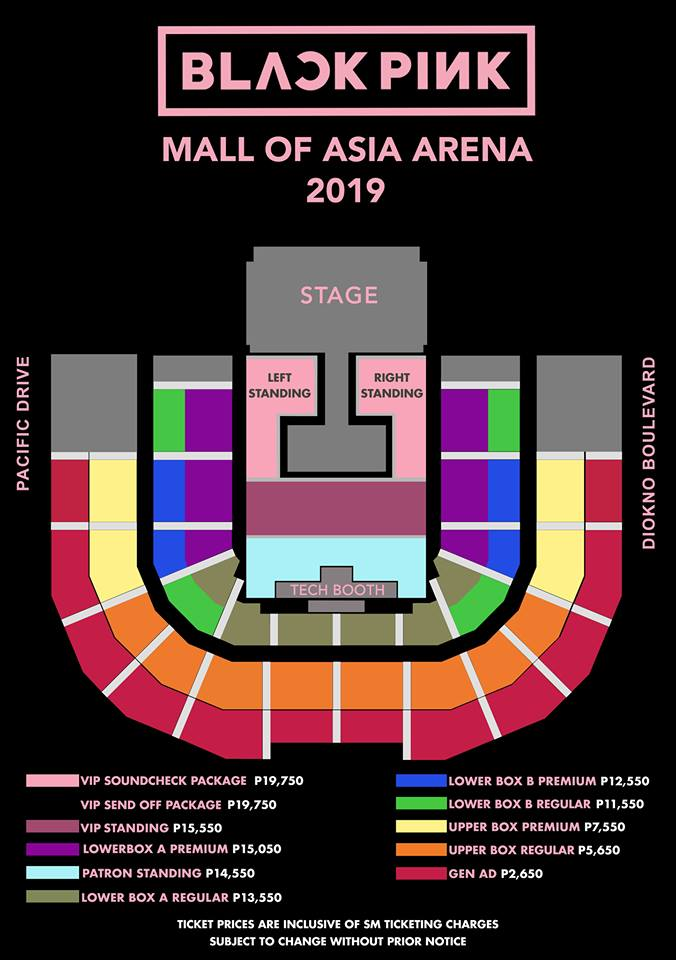 Blackpink Live In Manila 2019 Philippine Concerts