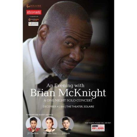 Brian McKnight Live in Manila and Cebu 2018
