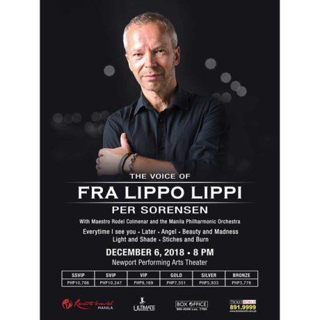 Fra Lippo Lippi: Per Sorensen Live in Manila 2018