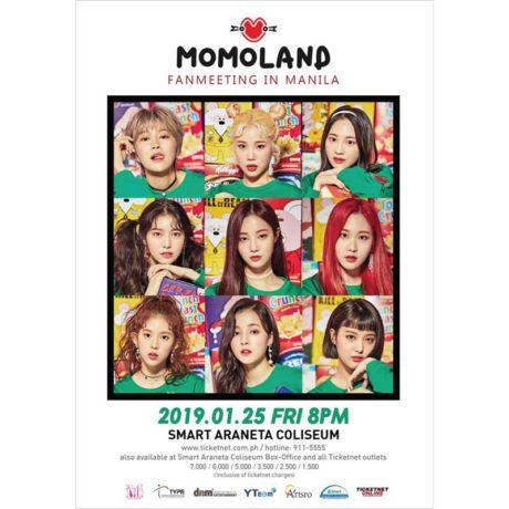 Momoland Live in Manila 2019