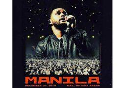 The Weeknd Live in Manila Meet & Greet Promo