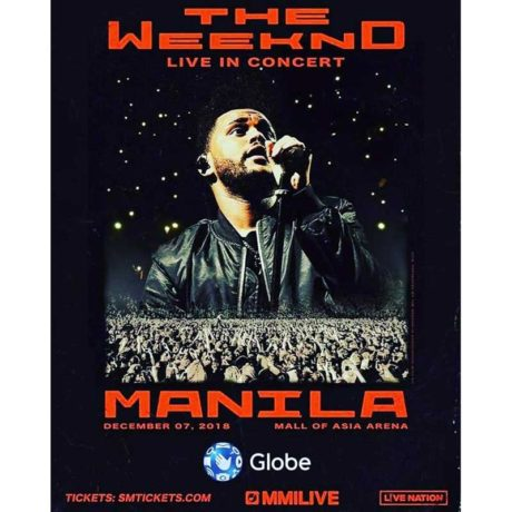 The Weeknd Live in Manila Meet & Greet Promo