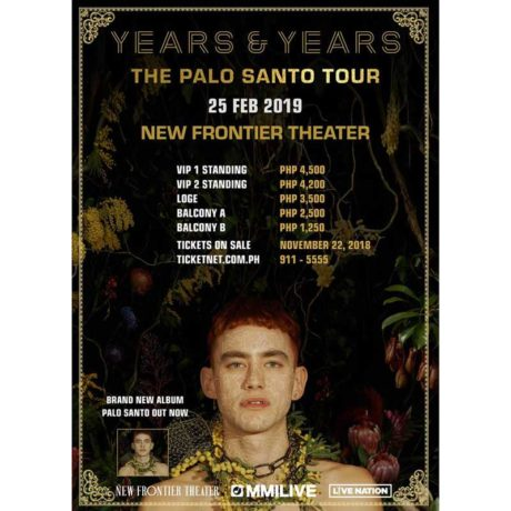 Years & Years Live in Manila 2019