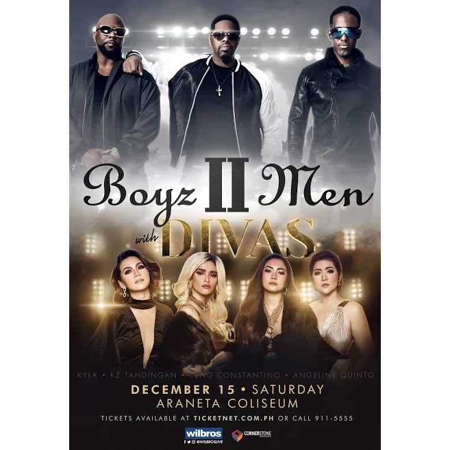 Boyz II Men excited to perform with DIVAS and visit Davao for the first time
