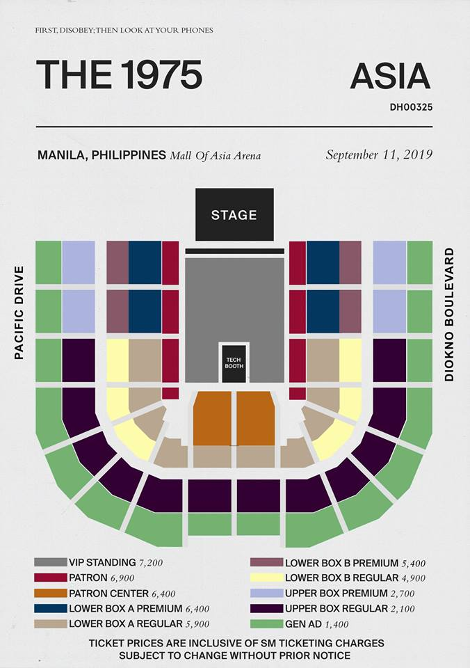 The 1975 Live in Manila 2019 | Philippine Concerts