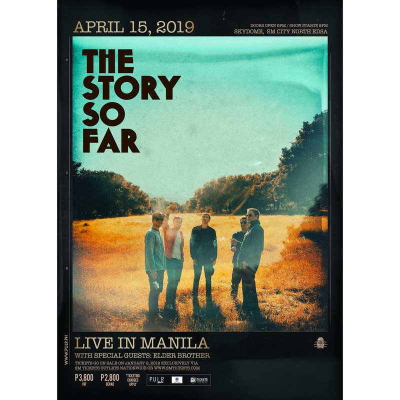 The Story So Far Live in Manila 2019   Philippine Concerts