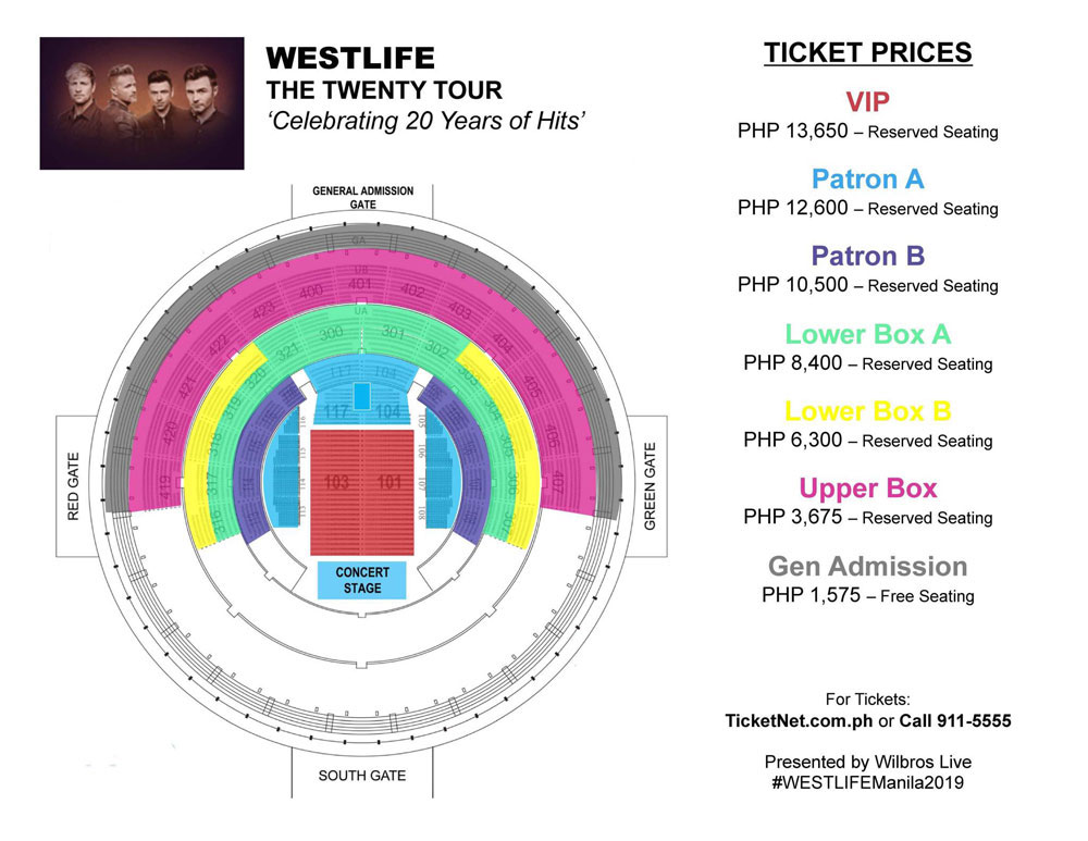 The Twenty Tour: Westlife Live in Manila 2019 | Philippine