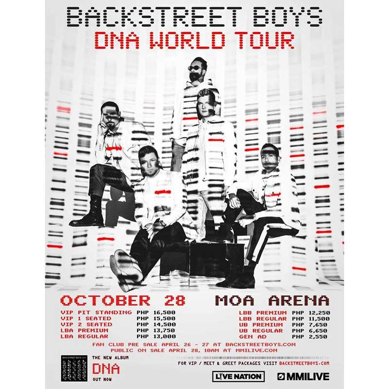 Backstreet Boys Live in Manila 2019 | Philippine Concerts