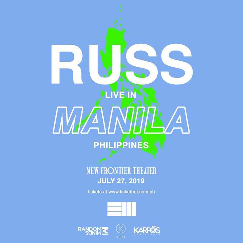 Russ Live in Manila 2019 | Philippine Concerts