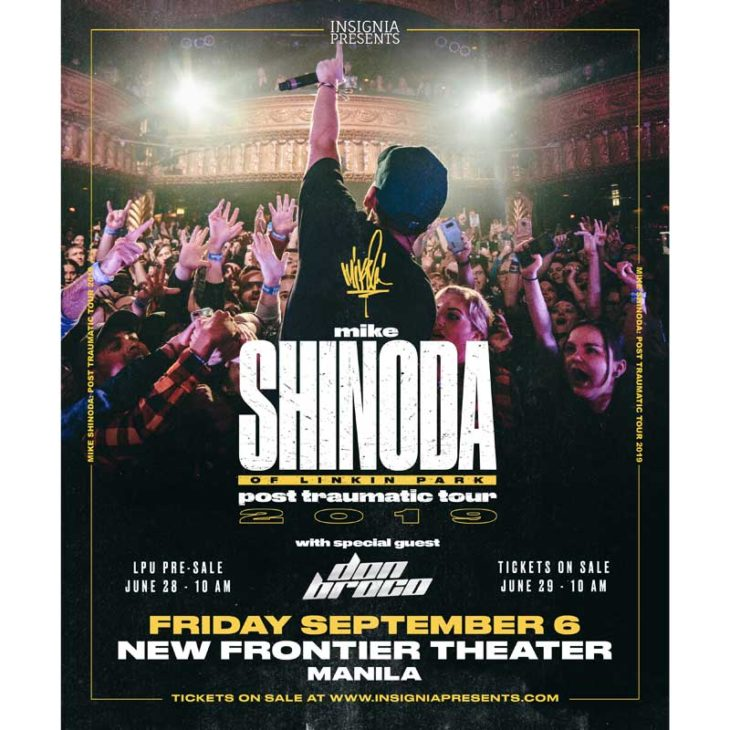 mike shinoda of linkin park live in manila - Philippine Concerts