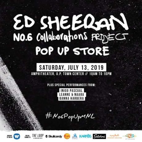 Ed Sheeran Is Opening A Pop Up Store In Manila | Philippine