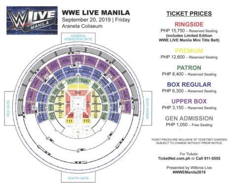 WWE Live Manila 2019   Philippine Concerts