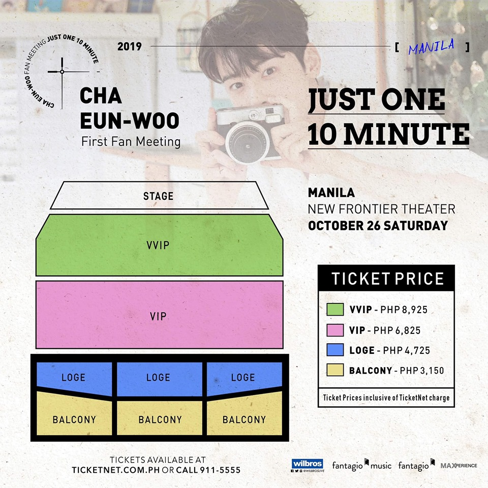 Cha Eun Woo First Fan Meeting in Manila | Philippine Concerts